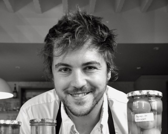 Portrait du Chef Florent Ladeyn